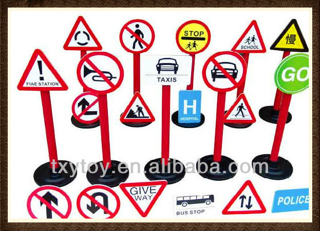 Children toy of Traffic sign LT-2172B