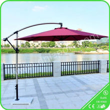 Outdoor Reinforced Waterproof Cloth promotional beach sun umbrella/parasol for pepsi