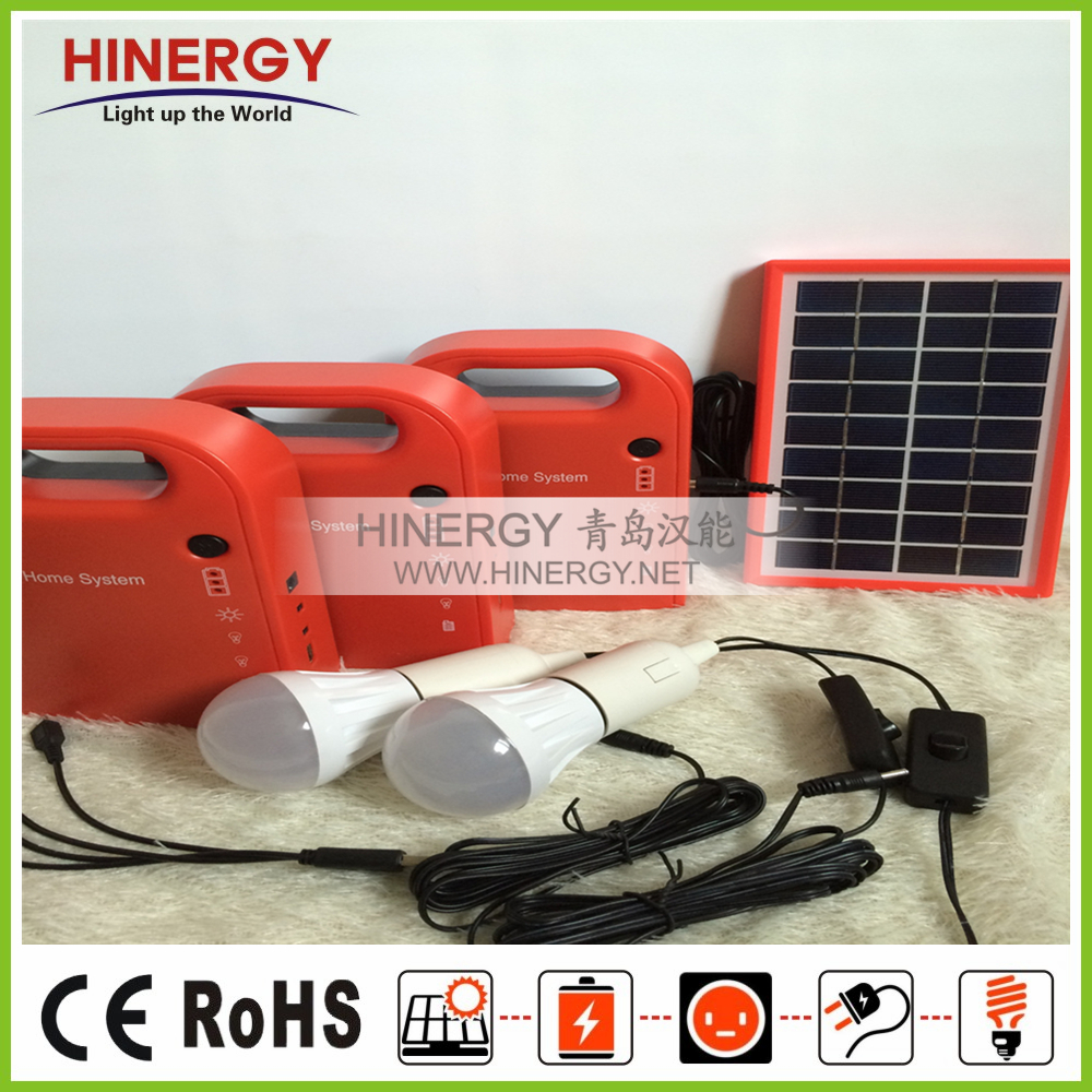 unique africa solar home lighting system 3W 9V solar home lighting system supplier