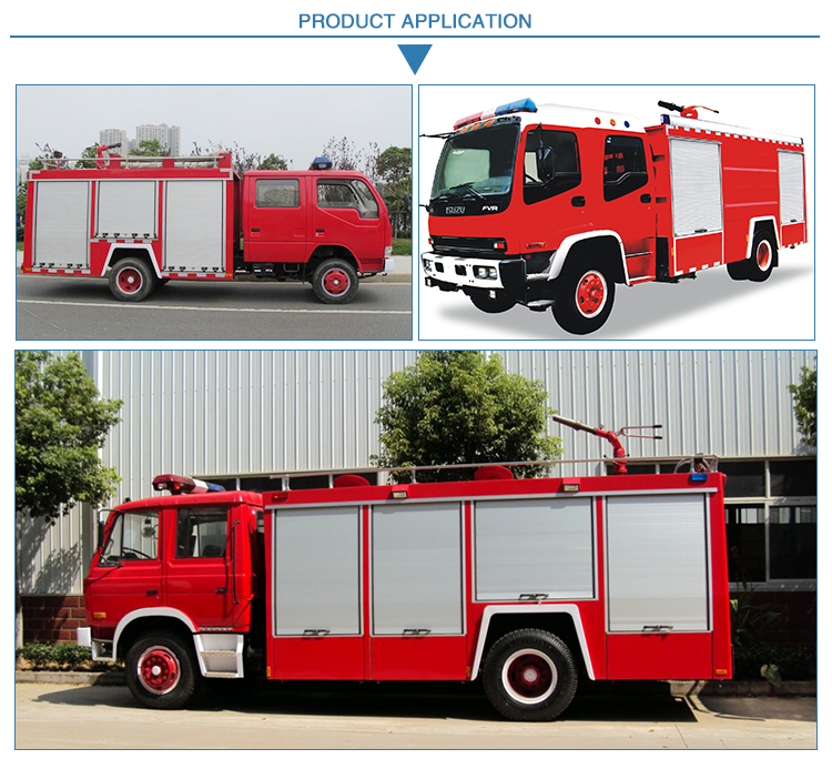 Aluminum Vehicle Roller Shutter For Fire Truck
