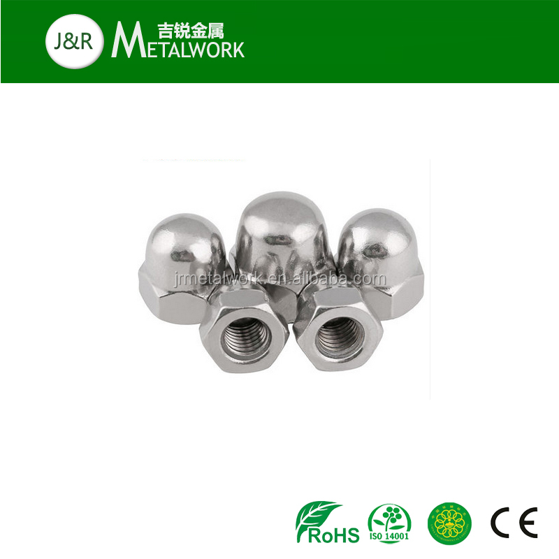 Good price M6 M8 M10 A2-70 stainless steel SS304 hex cap nut DIN917
