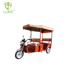 China Manufactory Smart New 850w Rickshaw Tricycle For Passager