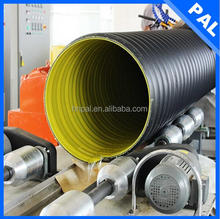 PE impact resistance 10 inch drain pipe with CE
