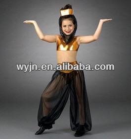 2014- -teen dance gold belly costume tutu- dashing women gold belly dance skirt wear -child&adult dashing girl dancedress