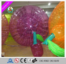 Customized lovely fruits like giant inflatable zorb ball for sale