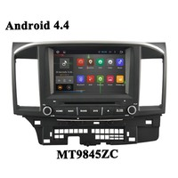 Wholesale Pure Android 4.4 Car DVD GPS for Mitsubishi Lancer ex