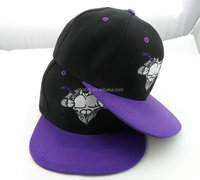 latest embroidery high quality blank snapback hats