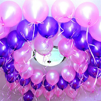 beautiful&cheap different size metallic balloon