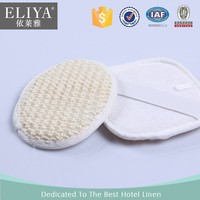 ELIYA Disposable Hotel Pure Natural Bath Loofah Shower Mat
