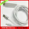 8-pin Connector To HDTV Video Cable Lightn ing HDTV cable MHL to HD MI cable for Iphone 5 5s 6 6plus