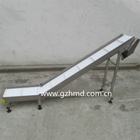 Small Light Belt Conveyor With Cleats
