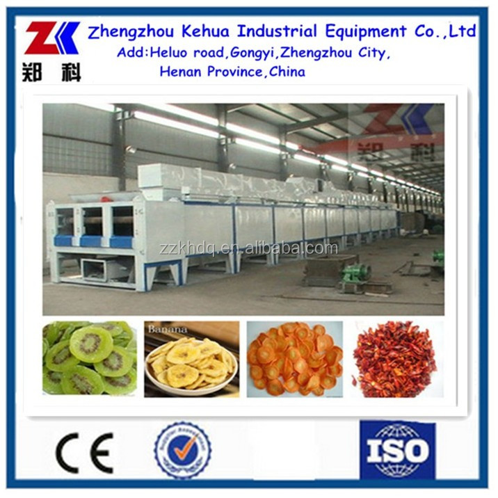 Factory direct supply vegetables and fruits drying equipment