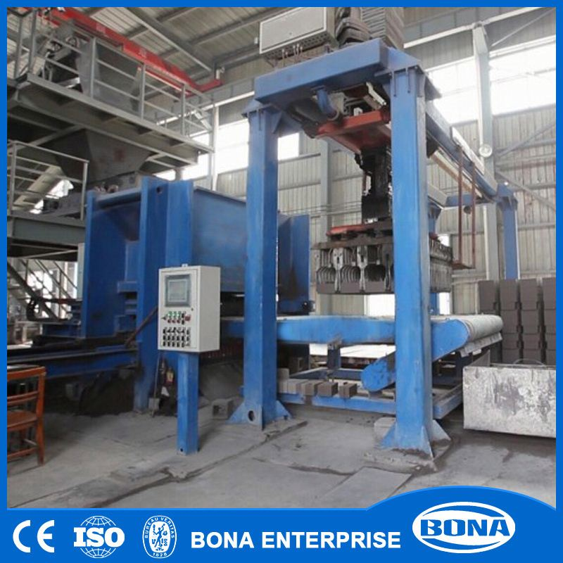 Innovative Construction Equipment Fully Automatic Concrete Block Making Machine