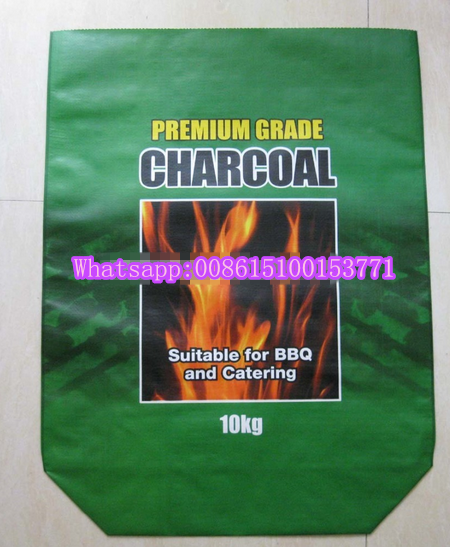 Recyclable Feature shopping Industrial Use charcoal packing bag