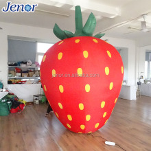 Sweet Inflatable Fruit Strawberry Model for Promotion Event