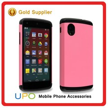 [UPO] Hot Sale Hybrid Combo Armor Back Covers Case for Google Nexus 5
