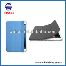 Blue smart cover for iPad mini 7' tablet