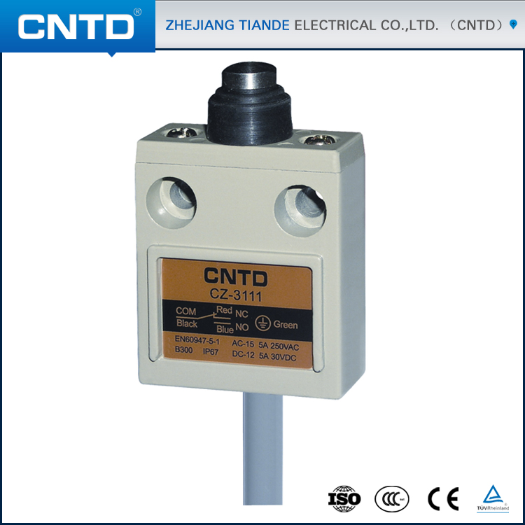 CNTD Brand Limit Switch 12V IP68 Waterproof Enclosed Switch CZ-3111