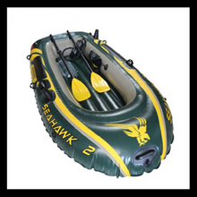 Sailing 2 seats air floor Inflatable Boat Rigid Rubber Fishing Boat