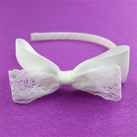 promotional custom latest silver hair accessories