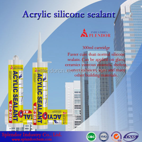 Splendor Acetic/actoxy Silicone Sealant manufacturer, splendor pure silicone sealant, oil proof silicone sealant