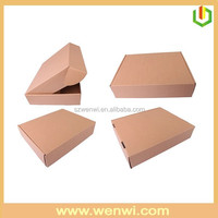 Corrugated mail box standard packing box sizes