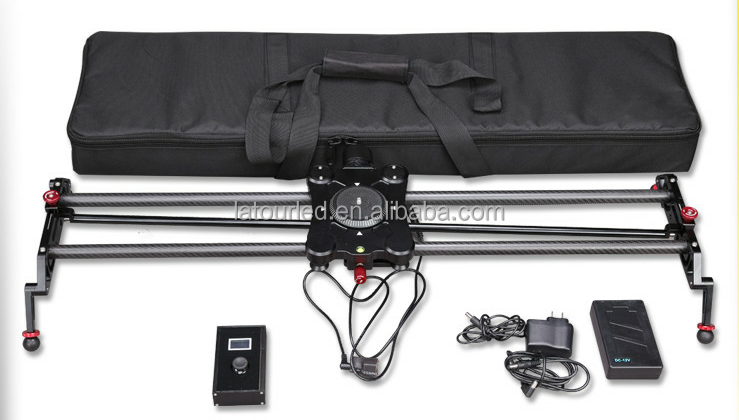 Professional China photography adjustable timelapse shooting video camera slider with motorized dslr slider track