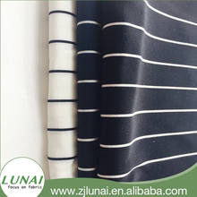 LUNAI poly spandex woven digital printing fabric 4 stretch fafour way strech polyester/spandex bric for garment