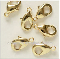 2014 14k gold lobster claw clasps wholesale