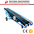 loading and unloading hard and durable belt conveyor for stone