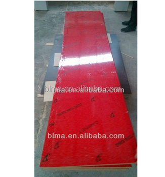 High quality red laminate countertops for kitchen usage