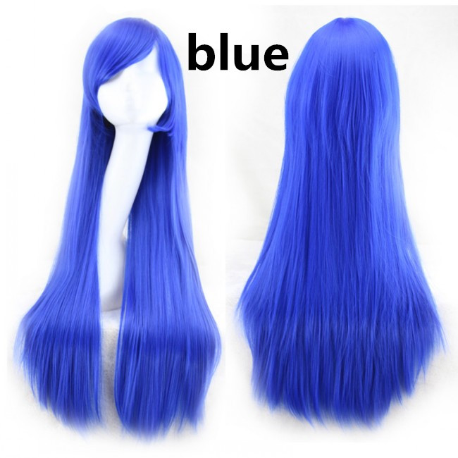 New Style Fashion Long Straight women wigs Full Hair Wigs Cosplay