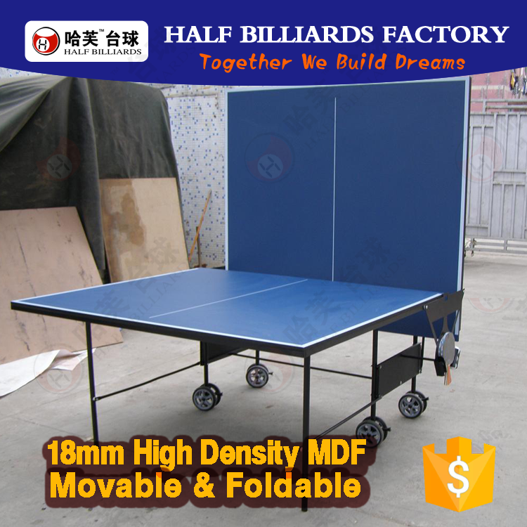 HALF Fun ( 8 years Factory MDF Products) Tennis Table HT-101 (with Rubber, Bat,Ball, Racket) Table Tennis Table price