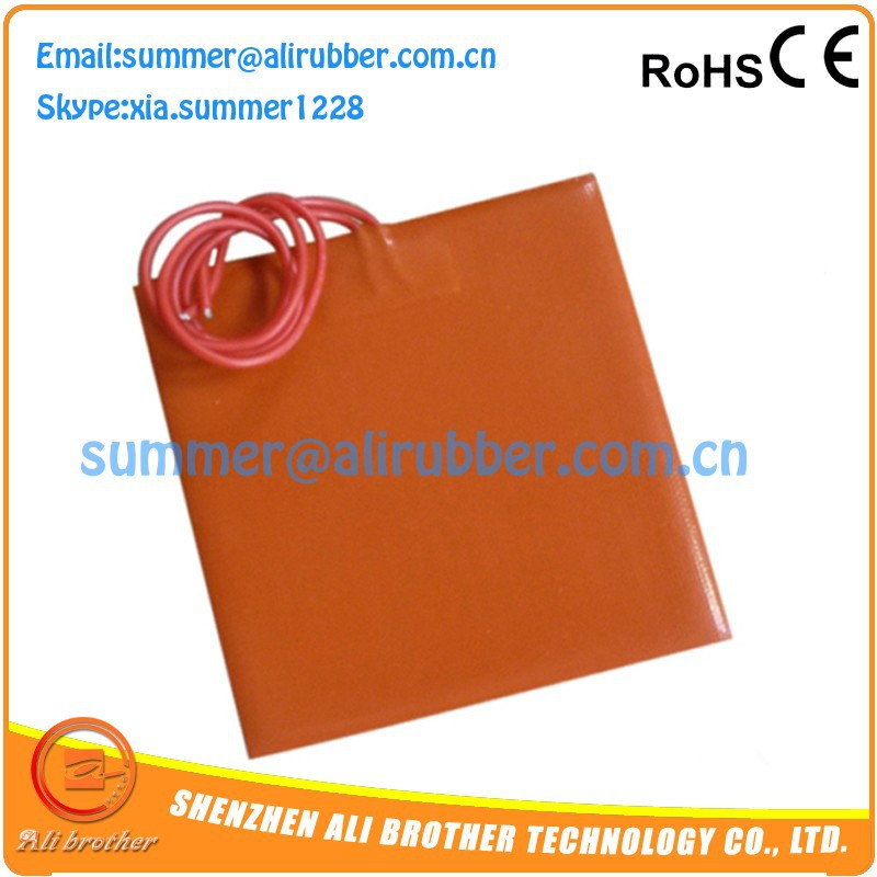 Electric Silicone Rubber Heating Bed Fast Heat Transfer