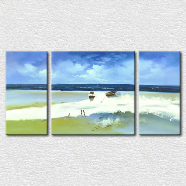 Modern clear decoration multi panel painting