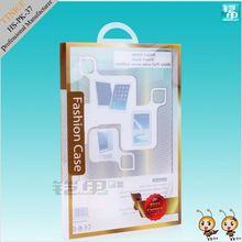 Thick PVC hanging retail packaging for ipad series case