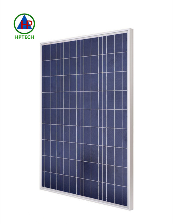Poly crystalline photovoltaic cell solar panel 100 watt for solar lighting system