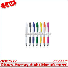 Disney Universal NBCU FAMA BSCI GSV Carrefour Factory Audit Manufacturer Plastic Lotus Flower Touch Pen