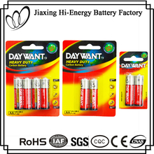 Factory Directly Provide Dry Cell AA UM3 R6 1.5V Zinc Dry Battery