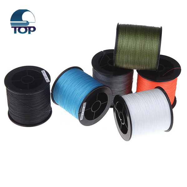 Cheap PE braided monofilament sport fishing net line
