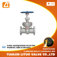 GOST standard Manual wedge WCB gate valves with price