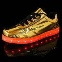 Colorful and Rechargeable LED Shoes for Women