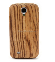 Good designs carved wood shell for sumsung S4