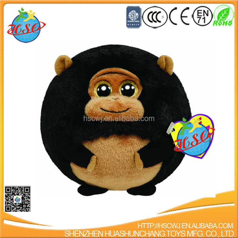 2017 new plush animal toy cute monkey stuffed toy