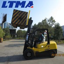 Three stage and free lift mast 3.5 ton forklift specification