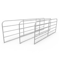 Cattle corral panels produce used for galvanized corral panels