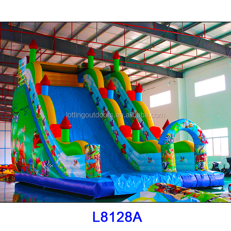 cheap inflatable water slides for sale, giant inflatable water slide