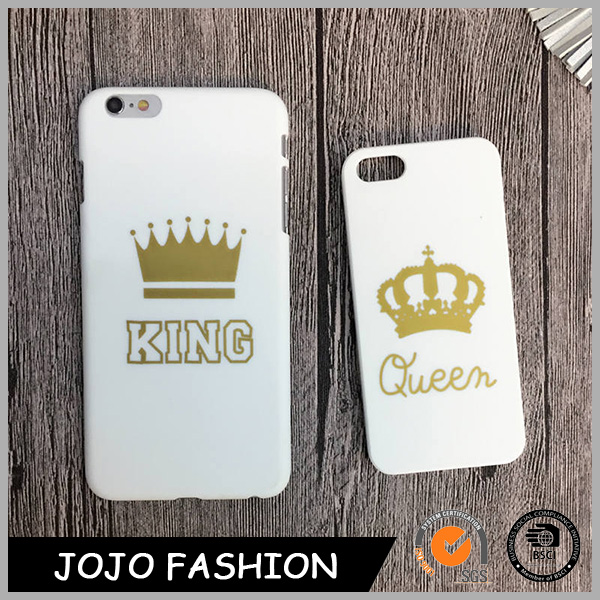 Customized mobile phone case king cell phone cover queen cell phone shell