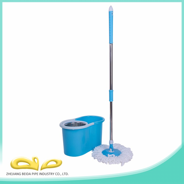 China manufacturer top quality competitive price spin micro fiber dust mop