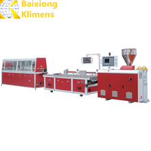 pvc profile extrusion machine upvc windows production line wpc window machinery